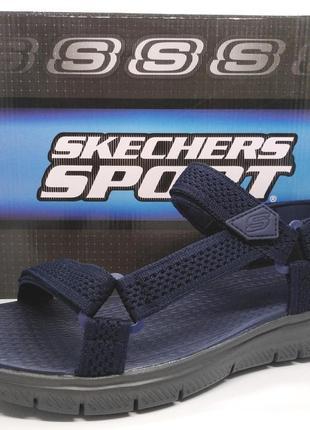 Стильные удобные сандалии босоножки skechers flex advantage оригинал