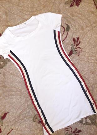 Платье туника спортивного типа