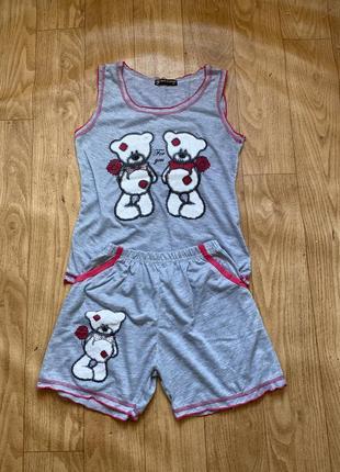 Милая пижама / одежда для дома