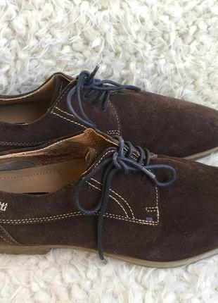Туфли для серьезных мужчин от бренда bugatti размер 44. купить