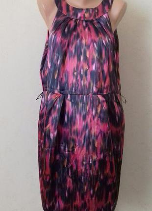 Платье большого размера с красивым принтом f&f