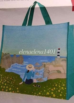Большая сумка для шопинга и пляжа - шоппер ив роше