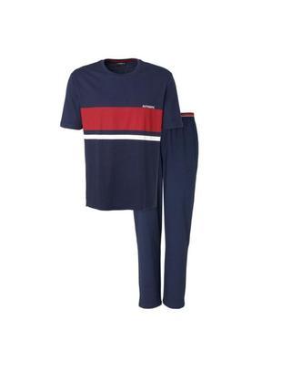 Качественная мужская пижама домашний костюм германия