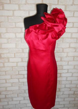 ♥эффектное платье на одно плечо♥