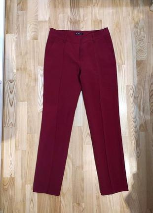 Брюки очень красивого винного цвета. штаны цвета марсала. брюки. брюки бордового цвета