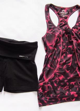 Спортивные шорты с отворотом для спорта и танцев тренировочные