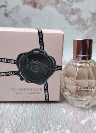 Мініатюра парфума viktor & rolf flowerbomb