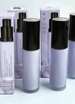 Освежающий праймер под макияж first light priming filter becca 30ml