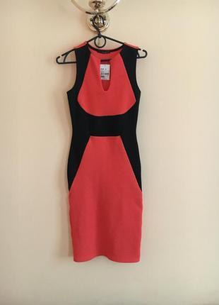 Новое стильное платье платьице плаття  миди сукня футляр