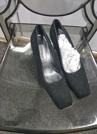 Туфли квадратный носок