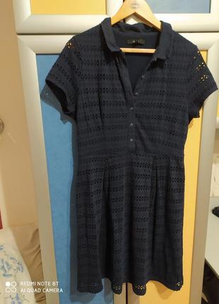 Next милое платьице в стиле ретро винтаж р.48-46 пог-50см