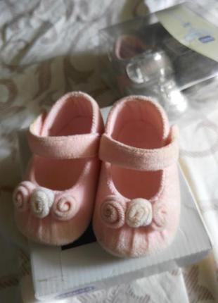 Первая обувь для девочки