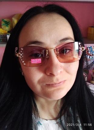Rita bradley ❤️ солнцезащитные очки с камнями