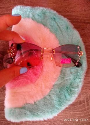 Rita bradley ❤️ солнцезащитные очки с камнями3 фото