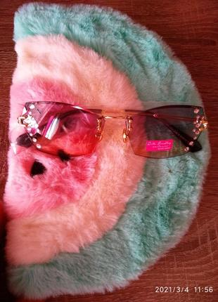 Rita bradley ❤️ солнцезащитные очки с камнями2 фото