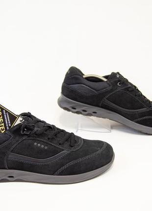 Ecco gore-tex новые кожаные кроссовки оригинал! размер 41-42 26,5 см