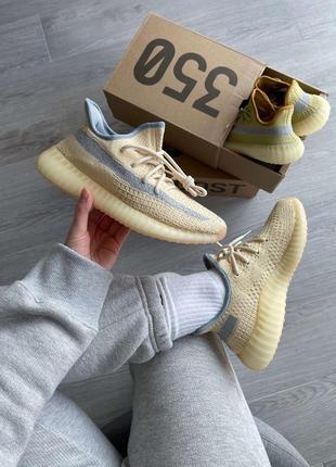 Хит продаж унисекс  adidas yeezy boost 350 v2 linen