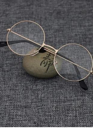 Круглые очки гарри поттера имиджевые