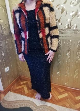 Костюм женский платье и пиджак кардиган