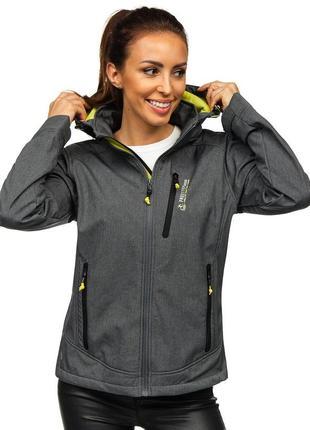 Отличная куртка ветровка софтшелл nielsson р. 54-56 (4xl) с капюшоном