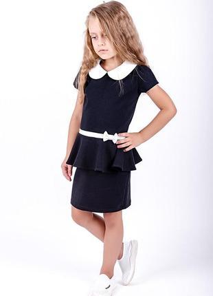 Платье повседневное школьное