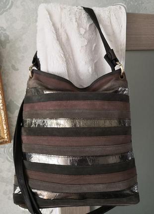 Шикарная большая кожаная сумка salamander👜👜🌷🔥💣