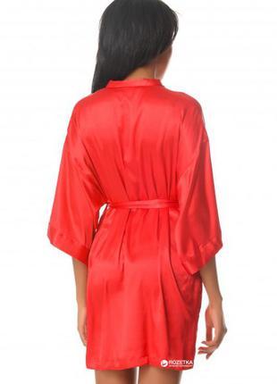 Атласный халат кимоно victoria's secret