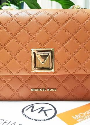 Шикарная сумочка на плечо michael kors