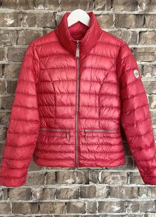 Ультра тонкий демі мікро пуховичок beaumont, гарного рожевого,розмір м💕
