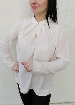 Гарненька шовкова блуза #cos