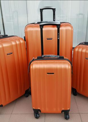Дорожный чемодан fly  orange