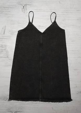 Monki original джинсовый сарафан джинсовое платье