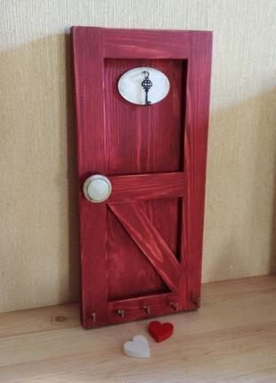 Ключница настенная,, дверь ''