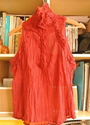 Блузка-безрукавка bandolera