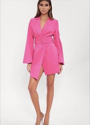 Платье пиджак missguided