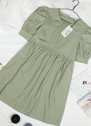 Новое хлопковое платье na-kd