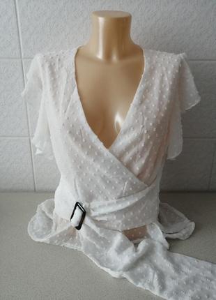 Супер стильна, укорочена блуза
