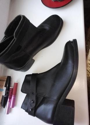 Ботинки кожаные оригинал