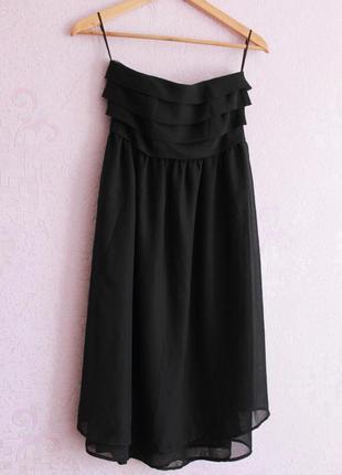 Крутое шифоновое платье sait tropez
