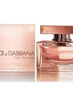 Dolce&gabbana rose the one,парфюмированная вода 75 мл