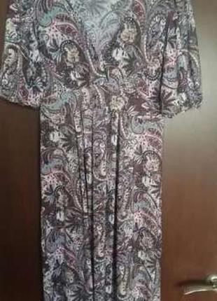 Платье летнее с декольте sezone
