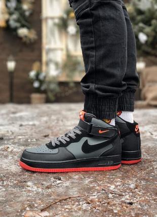 Nike air force 1 🍏 стильные мужские кроссовки найк