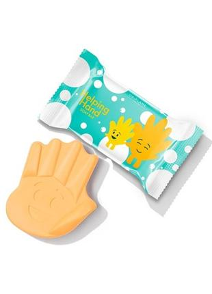 Мыло helping hand  в форме ладошки мило дитяче