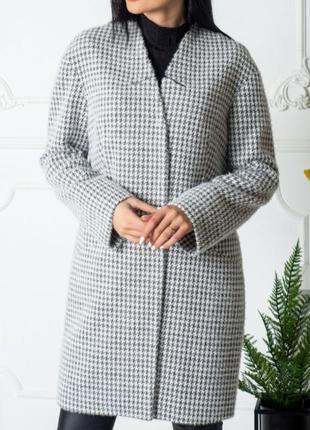 Шикарные пальто с альпаки ,мега хит продаж, люкс качество, размер м.