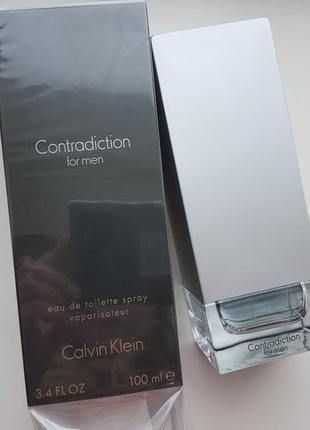 Calvin klein contradiction for men  туалетная вода, 100мл
