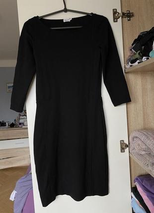 Чёрное платье классический стиль filippa k