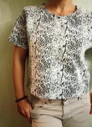 Блуза, топ фактурный h&m