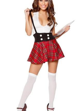 Короткая юбка в клетку/шотландка