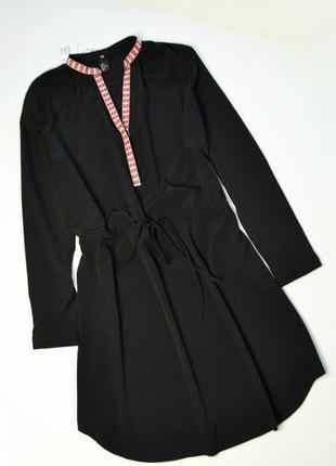 Новое платье рубашка с планкой и длинным рукавом
