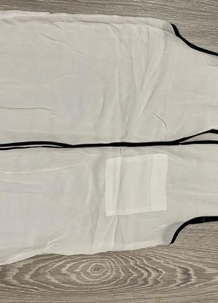 Жилетка безрукавка блузка zara